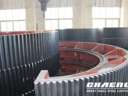 How does CHAENG stand out as a ball mill girth gear manufacturer