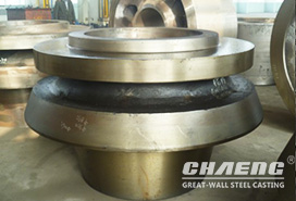 A building materials factory in Hubei ordered large vertical roller mill wheel hub