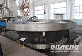 Hebei cement factory purchases vertical mill grinding table from CHAENG