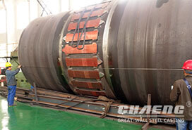 CHAENG rotary kiln shell segments serve for large cement companies
