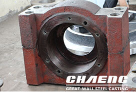 CHAENG vertical mill roller bearing housings, exported to India