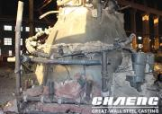 In the production of slag pots, the considerations of CHAENG in the cleaning process