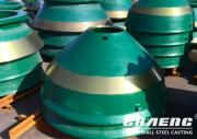 High-quality cone crusher concave is an important guarantee for the life of the cone crusher